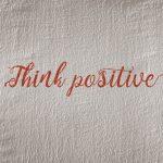 Encouragement positive mindset